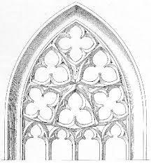 Church Windows Drawing