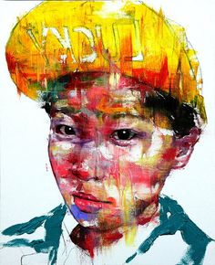 ARTIST: KwangHo Shin via: Cruzine #Yellowmenace #KoreanContemporaryArt + http://yellowmenace.tumblr.com/tagged/Korean%20art
