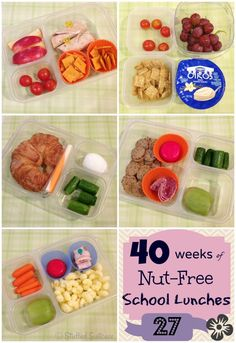Kids School Lunches for packed lunchbox ideas StuffedSuitcase.com family
