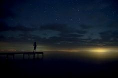 night, photo by kare hav While the lights of distant Bay City across Saginaw Bay from Point Lookout make for a beautiful photo, I feel for the photographer who wishes they'd shut them off at …
