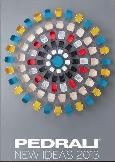 Pedrali magazine cover, designed by leftloft