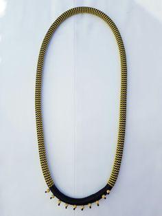 Elizabeth Morr  (goldbead)  tribal necklace Tribal Necklace, Beaded Necklace, Jewelry, Beaded Collar, Jewlery, Pearl Necklace, Jewerly, Schmuck, Beaded Necklaces