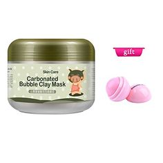 Shouhengda Carbonated Bubble Clay Mask Deep Clear Oxygen Bubbles Mud Mask -- Visit the image link more details.