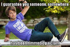 Gavin Free on clams