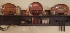 Some of my redware collection February 2018