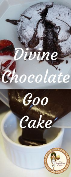 Chocolate Goo Cake Vegan, Nut Free, Wheat Free, Gluten Free