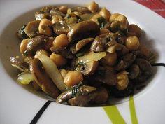 Paraíso Vegetal: Curry de garbanzos Portobello
