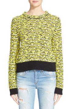 ACNE Studios 'Caci' Crewneck Cotton Sweater $310.00 #Sale ...