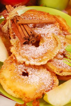 Pancakes with apple and pineapple  Frittelle mele e ananas  www.gingerandtomato.com