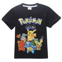 Pokemon Go Anime Kids T-Shirts Costume //Price: $12.35 & FREE Shipping //   #goku #anime
