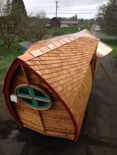 tiny homes THE ARK | Zyl Vardos  | Tumblr by carter flynn