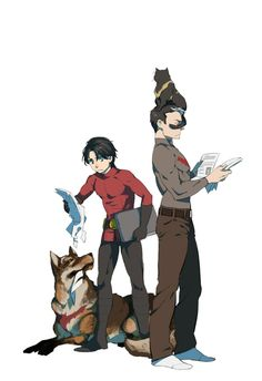 cute jay tim and pets