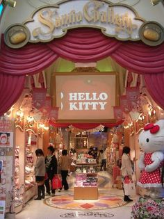 <3hello kitty shop<3