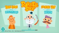 Play Barber Shop, an innovative and a comical slots game at Top Slot Site. Avail £5 bonus and win up to 4000 coins: https://www.topslotsite.com/games/barber-shop/?tracker=170800&dynamic=socialVIP