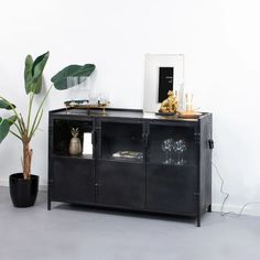 By-Boo Dressoir Murdock - 4043 Cosy Living, Home Upgrades, Industrial House, Interior Styling, Bookshelves, Decoration, Building A House, Sweet Home, New Homes