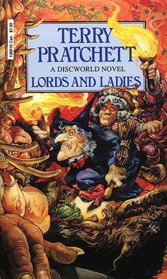 The 14th Discworld novel by Terry Pratchett