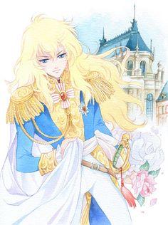 Oscar - Rose of Versailles fanart
