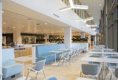 NUON nieuwAmsterdam interieur kantoor Heyligers 08 700x475 NUONs Amsterdam Headquarters / HEYLIGERS d+p