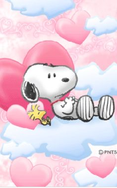 Friendship is sooooooooo beautiful when you got Snoopy and Woodstock all year round even on clouds of positivity in valentines day you dont have to have a bf or gf to celebrate vday Charlie Brown Y Snoopy, Charlie Brown Christmas, Snoopy Images, Snoopy Pictures, Snoopy Wallpaper, Hello Kitty Wallpaper, Peanuts Cartoon, Peanuts Snoopy, Snoopy Family