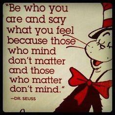 Dr. Seuss knows it all!