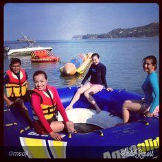 Watersports adventure at #ClubPuntaFuego