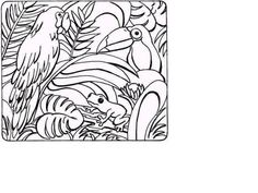 coloring pages rainforest free online coloring pages princess