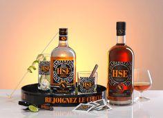 Pour vos Cocktails et Desserts de fin d'année ✯ Rhum Blanc 50° et Rhum Vieux 42° agricoles AOC médaillés ✯ Découvrez la gamme ☞ http://www.rhum-hse.com/gamme-rhum-hse