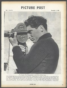 Robert Capa - 'Picture Post, This Is War' 1938