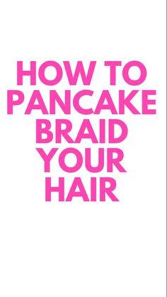 Easy Hairstyles For Long Hair, Little Girl Hairstyles, Cute Hairstyles, How To Pancakes, Girls Hairdos, Dramatic Hair, Big Braids, Types Of Braids, Cornrows