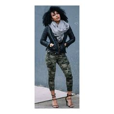 Comfy In Camo / Fashion women fashion outfit clothing style apparel RORESS closet ideas Camo Fashion, Black Girl Fashion, Look Fashion, Fashion Outfits, Womens Fashion, Black Urban Fashion, Camouflage Fashion, Urban Chic Fashion, Urban Fashion Women