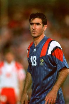 Eric Cantona France Pictures and Photos Retro Football, World Football, Sport Football, Football Cards, Football Players, Eric Cantona, Everton Fc, European Championships, Football Pictures