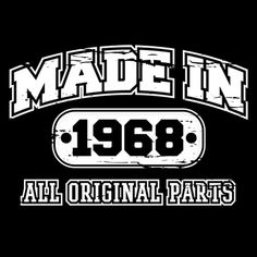 Made In 1968 T-Shirt-48th Birthday T-Shirt
