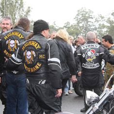 Another photo from the vault. Biker Clubs, Motorcycle Clubs, Biker Gangs, Bat Boys, Vaulting, String Art, Cut And Color, Bikers, Badges
