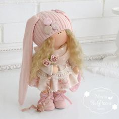 VK is the largest European social network with more than 100 million active users. Clay Dolls, Doll Toys, Pretty Dolls, Beautiful Dolls, Tilda Toy, Techniques Couture, Sewing Dolls, Waldorf Dolls, Soft Dolls