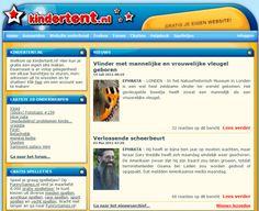 Kindertent.nl, 1 van de zovele tools waarmee ik vroeger 'websites' maakte! Helaas bestaat het nu niet meer...