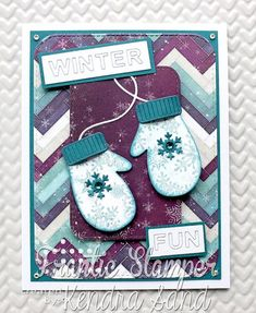 Luv 2 Scrap n' Make Cards: Winter Fun Winter Fun, Winter Theme, Winter Words, Tiny Tags, Script Words, Reindeer Face, Frantic Stamper, Shaped Cards, Cool Cards
