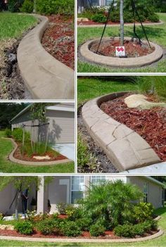bob from watauga posted seeking bids from professional contractors that can install continuous concrete landscape area lighting flower bed