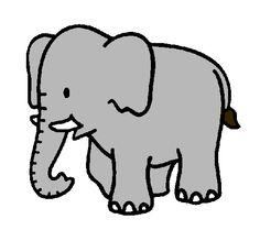 dibujo de elefante - Buscar con Google