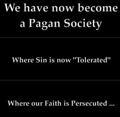 Sad but true. Humanism before spiritualism. Man before God. But Hope, Faith and Charity will persevere