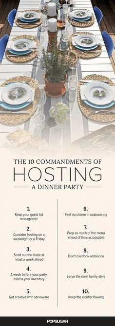 Hosting your first dinner party is a major milestone; sure, you've had friends over for cocktails or thrown a raucous house party, but those are different beasts altogether. A dinner party might seem imposing at the outset, but really it shouldn't be; follow these guidelines and you'll pull it off no problem.