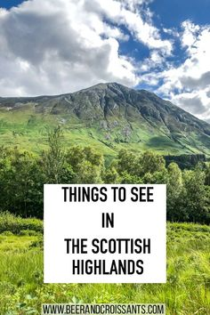 Best things to see in the Scottish Highlands. Click through to see our list of some great day trips from Inverness in the Scottish Highlands. Scotland Travel Guide, Ireland Travel, Scotland Trip, Scotland Castles, Scottish Castles, Inverness Scotland, Highlands Scotland, Edinburgh Scotland, Cool Places To Visit