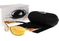 Discount Oakley Asian Fit Sunglasses Gold Frame Yellow Iridium Lens