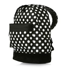 Mi-Pac Mini Rugzak All Polka Black / White | Mi-Pac | LEDERTREND