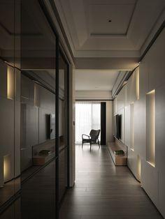 recessed wall lighting