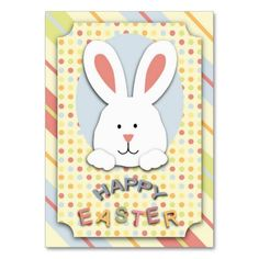 Easter bunny gift tag diy printable gift tag easter party easter bunny gift tag business card templates negle Image collections