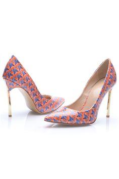 8d5e0618b497 shoespie.com Offers High Quality Shoespie Orange Knit Pointed-toe Stiletto  Heel