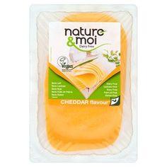Nature & Moi vegetáriánus specialitás cheddar ízesítéssel 200 g - Tesco Bevásárlás
