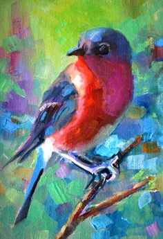 Pinturas de: Elizabeth Blaylock,  del  blog Daily Paintings By Elizabeth Blaylock