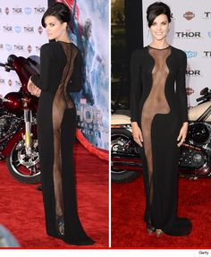 'Thor' Star Jaimie Alexander ALMOST NAKED ... at Movie Premiere  Read more: http://www.tmz.com/2013/11/05/thor-star-jamie-alexander-almost-naked-photos/#ixzz2jn9c8Huk