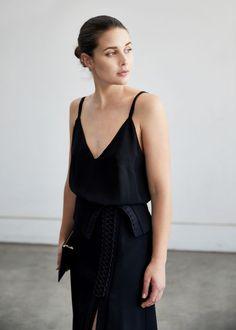 Dion Lee Black Coil Skirt | Style | Black | Outfit | HarperandHarley